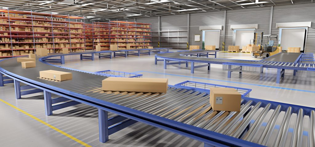 Warehouse goods stock