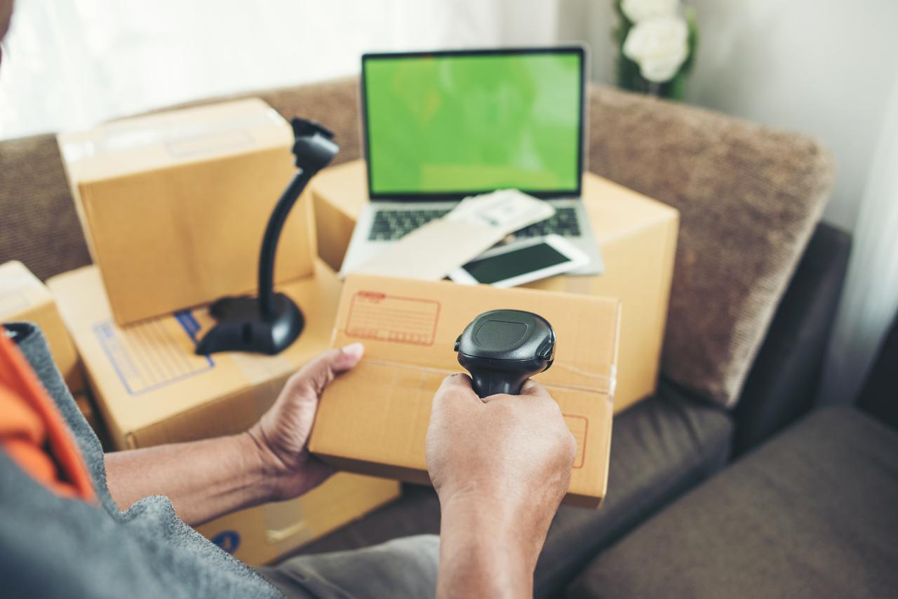 Barcode Machine with box