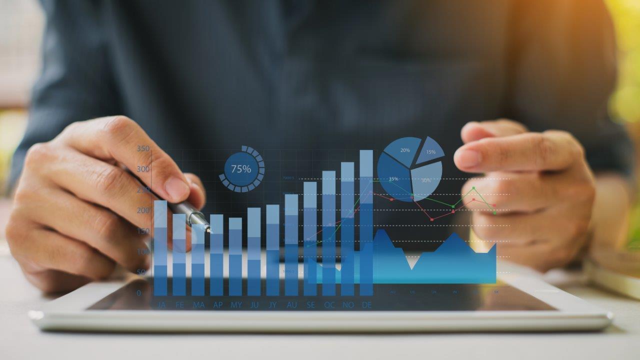 bar graph increasing cash