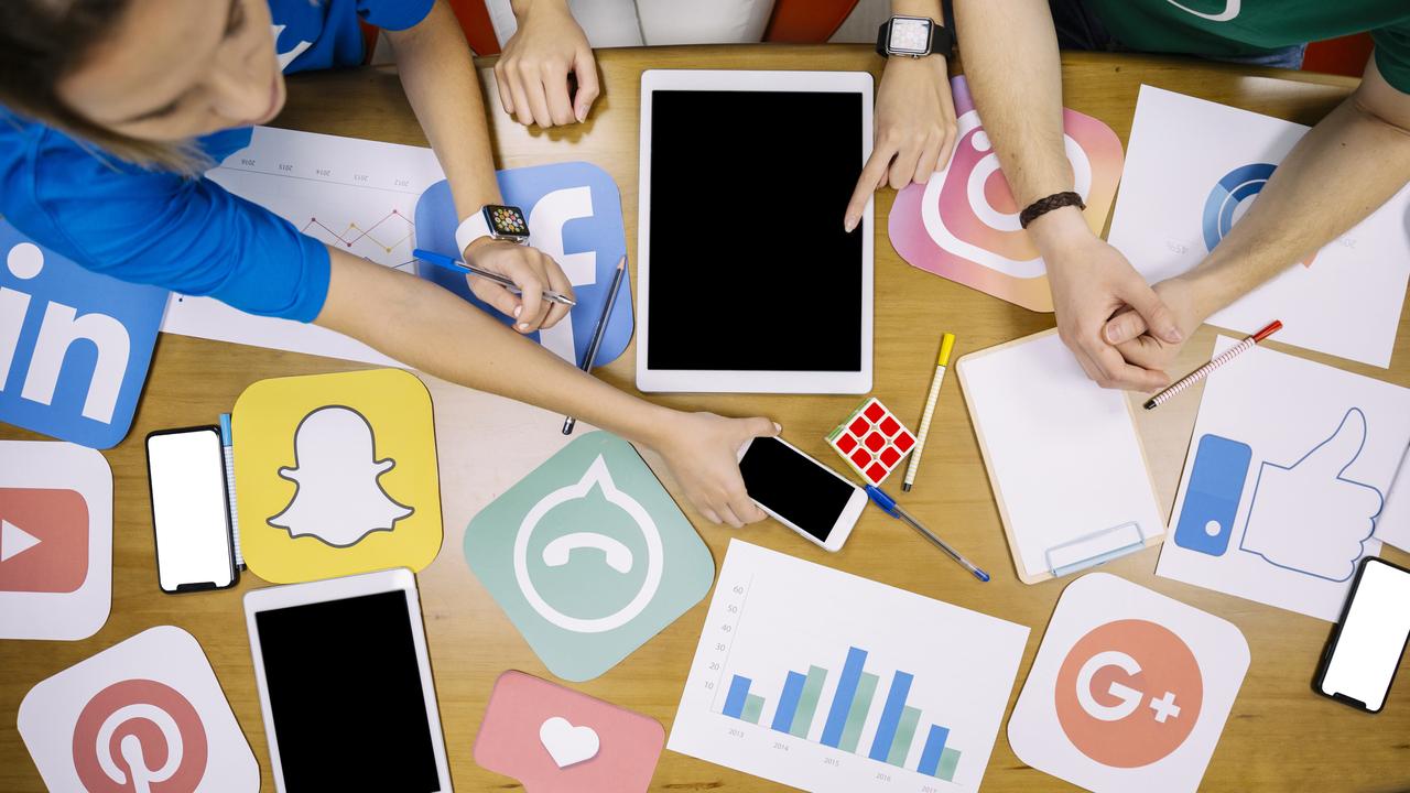 Social Media Login Logos